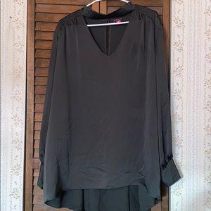 Women's plus size Vince Camuto silk blouse